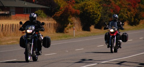 Birdman and Flyboy head out of Picton