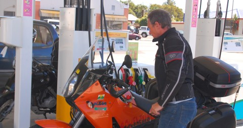 Riley fuels up - expect to pay $1.92 per litre on average in NZ