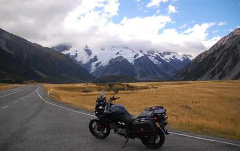 Heading to Mt Cook